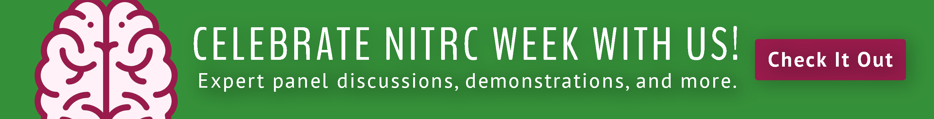NITRC Week Click Here